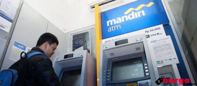 ATM Bank Mandiri - (Sumber: infoperbankan.com)