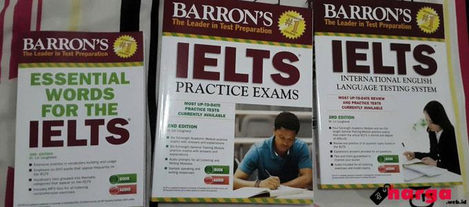 Buku Barron's IELTS - www.tokopedia.com