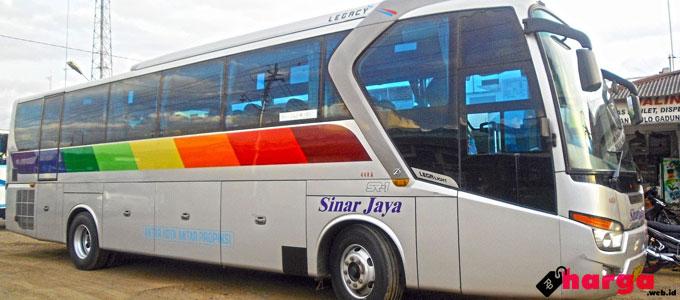 Bus Sinar Jaya - hargautama.com