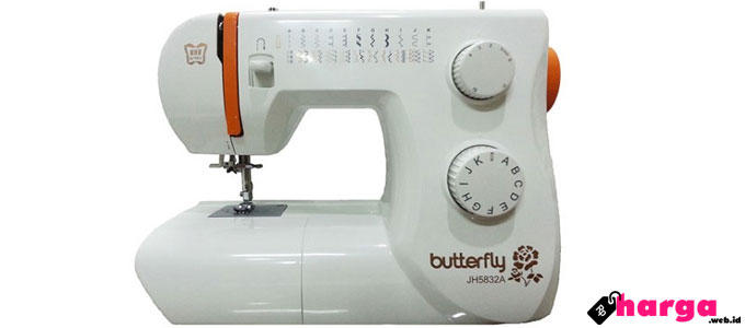 Butterfly JH5832A mesin jahit portable - www.bhinneka.com