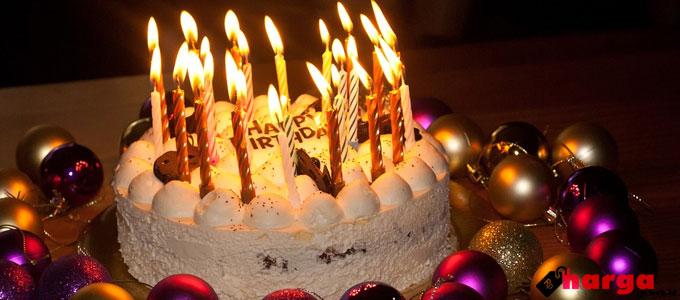 Kue Ulang Tahun - pixabay.com
