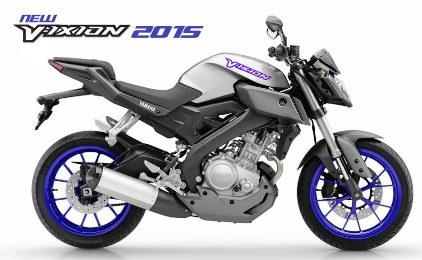 New Vixion Facelift 2015