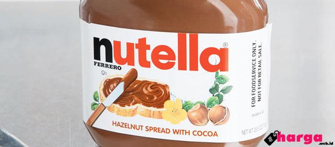 Nutella Hazelnut Spread - (Sumber: webstaurantstore.com)