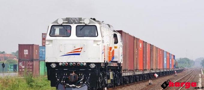 Pengiriman KALOG (Kereta Api Logistik) - banjarmasin.tribunnews.com