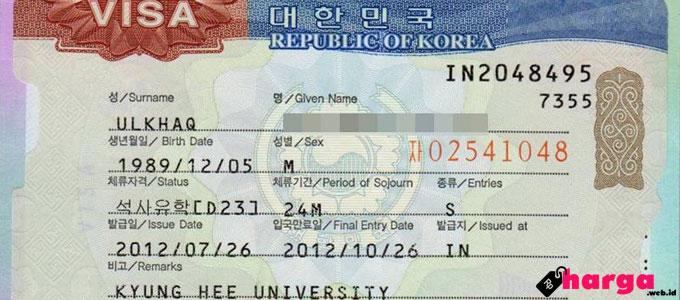 Visa Korea Selatan - liburmulu.com