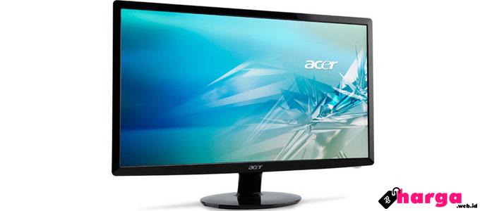 acer p166hql 15.6 inch lcd monitor - www.tokopedia.com
