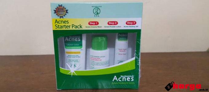 acnes starter pack - www.tokopedia.com