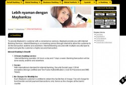 Bank BII Internet Banking