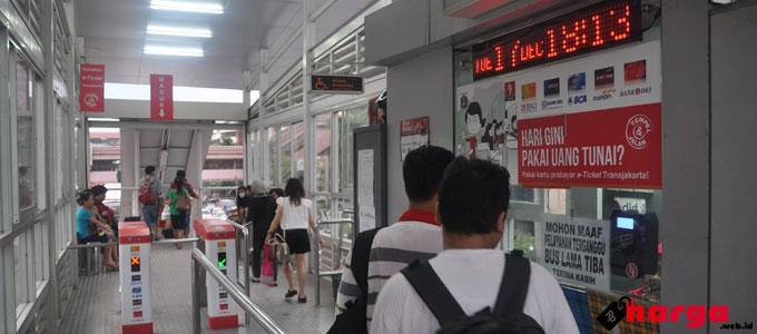 Tiket Elektronik Busway
