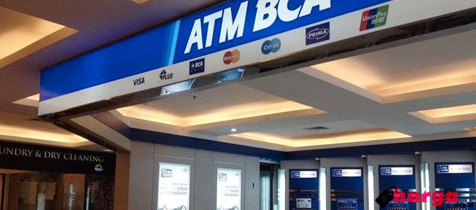 Update Biaya dan Limit Transaksi ATM BCA Terbaru 2017