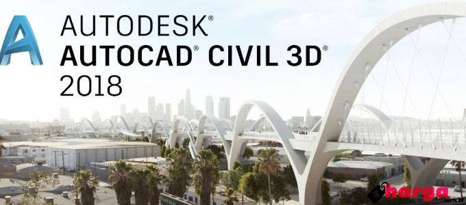 AUTODESK AutoCAD Civil 3D 2018 - (Sumber: civilhub.tk)