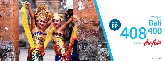Harga Tiket Promo AirAsia ke Bali 2015