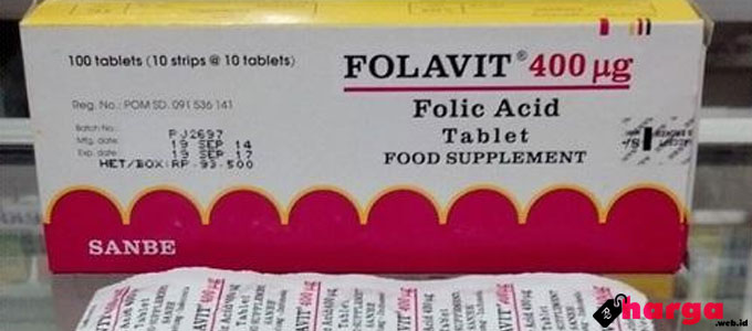 Asam Folat Folavit - www.programkehamilan.net