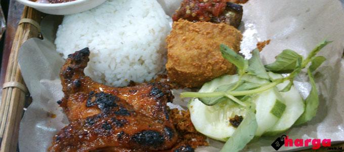 Harga Paket Menu Nasi Kotak Ayam Bakar Wong Solo Cabang Sidoarjo