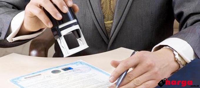 Biaya Notaris - (Sumber: dunianotaris.com)