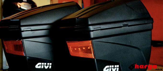 Info Lengkap dan Terbaru Harga Box Motor Merek GIVI