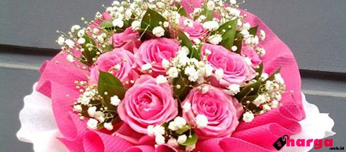 Buket Bunga Mawar - floristbandungmurah.com
