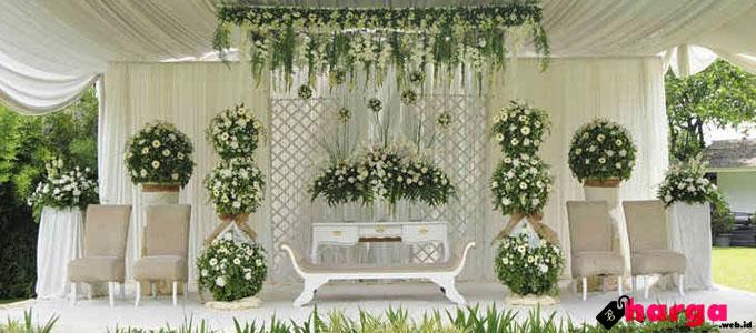 harga dekorasi resepsi pernikahan di fo