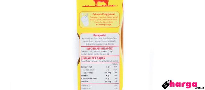 Berapa Harga Susu Dancow Fortigro Full Cream? Bisa Bikin Gemuk Badan?