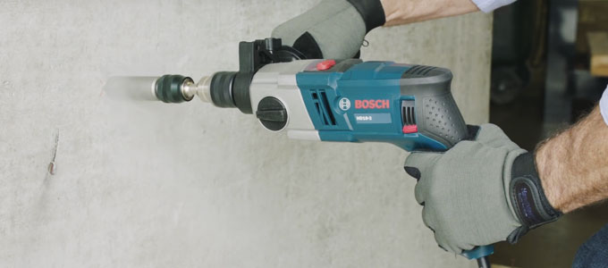 Hammer Drill Bosch - (Youtube: Bosch Power Tools)