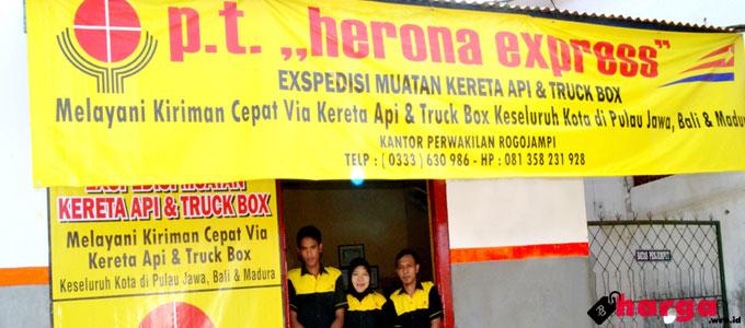 Info Terbaru Tarif/Ongkos Kirim Sepeda Motor Lewat Herona Express ...