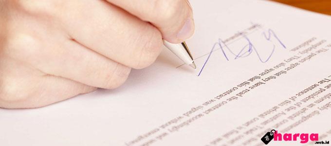 Update Persyaratan Dan Biaya Pendaftaran Jaminan Fidusia Daftar