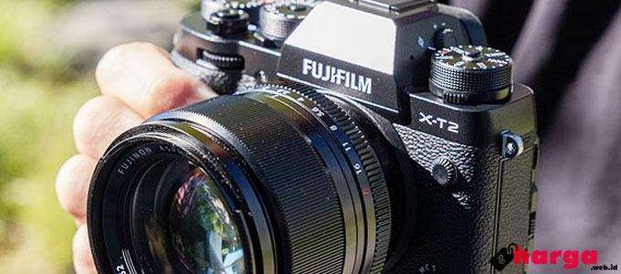 Info Harga dan Spesifikasi Kamera Fujifilm X-T2 (Baru & Second)