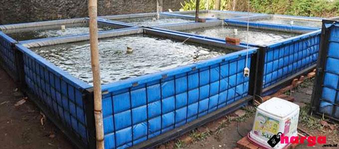 Kolam Terpal untuk Membudidayakan Lele - (Sumber: pertanianku.com)
