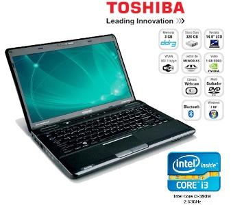 Daftar Harga Laptop TOSHIBA Core i3