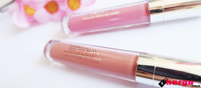 Harga dan Review Singkat Lipstik Cair Wardah | Daftar