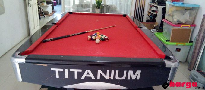 Meja Billiard Titanium - www.tokopedia.com