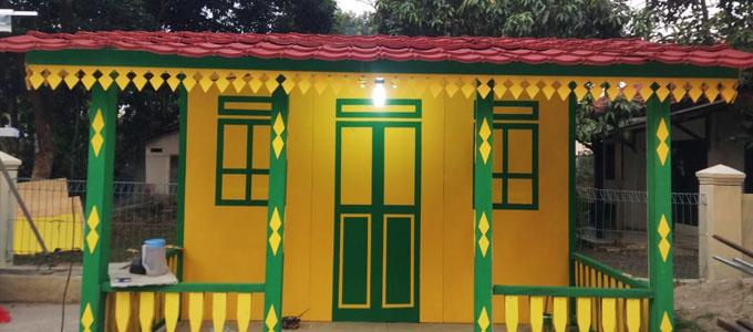 Info Terbaru Harga Ornamen Gigi Balang Di Rumah Adat Betawi