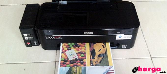 Printer Inkjet Epson L100 - (Sumber: tokopedia.com)