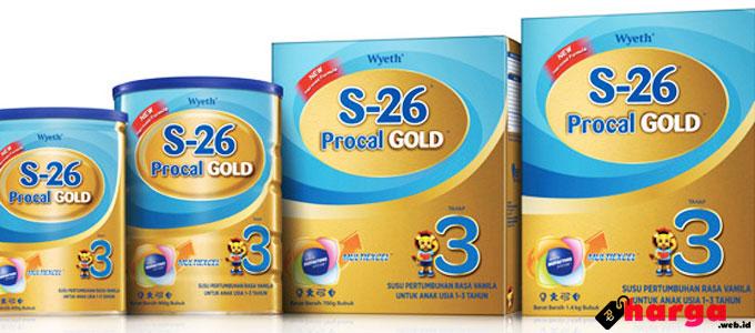 Harga dan Manfaat Susu S26 Untuk Usia 0-6 Bulan
