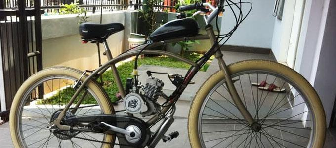 Sepeda Lipat Bermesin - Harga Online Terbaik