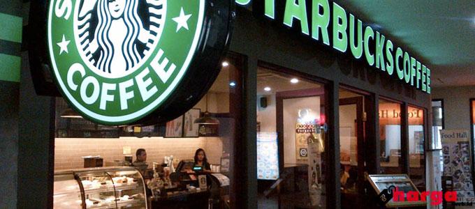 Daftar Menu dan Harga Starbucks Terbaru 2017