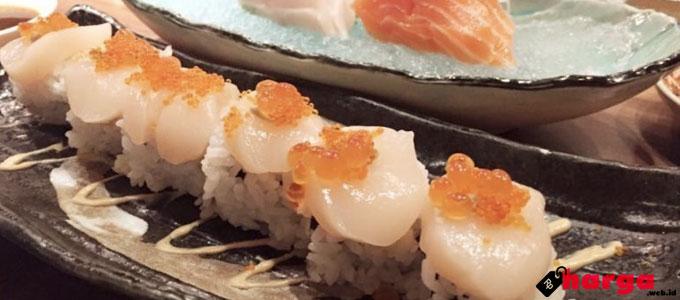 Menghadirkan Sajian Kuliner Sehat Khas Jepang, Berapa Harga Menu di Sushi Tei?