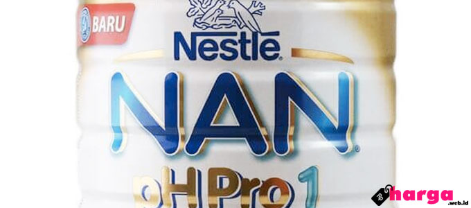Harga dan Kandungan Susu NAN HA (PH PRO)
