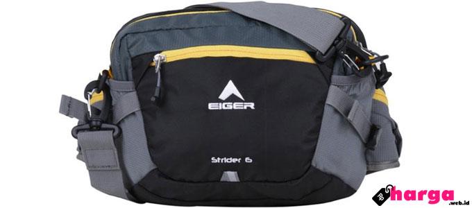 Tas pinggang Eiger Strider 6L Black - www.blibli.com