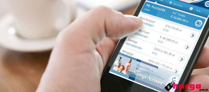 Transfer Via Mobile Banking - (Sumber: cr2.com)