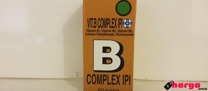 Dijual Harga Rp 4 Ribuan, Vitamin B Kompleks IPI Bermanfaat Bagi Tubuh
