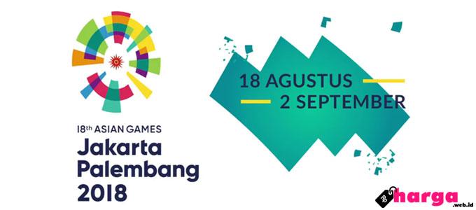 Informasi Info Harga Tiket Fee Ticket Online Ticketing Asian Games