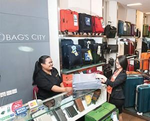 Harga Tas dan Koper Branded di Bags City, Galaxy Mall Surabaya