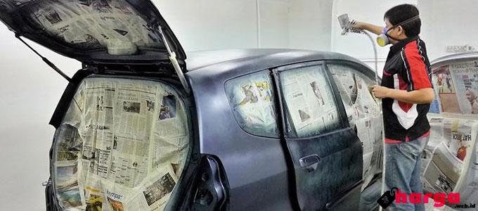 Info Terbaru Biaya Cat Mobil (City Car