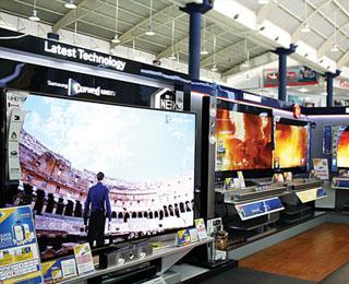 Harga Samsung UA65H8000, Televisi Layar Lengkung di Hartono