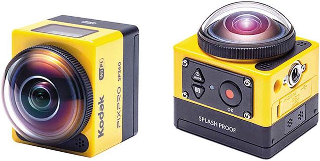 KODAK PIXPRO SP360 – Action Cam Tahan Guncang, Air, dan Debu
