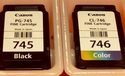 Update Harga Cartridge Canon MG2570 (Black & Color)