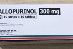 Harga Allopurinol 100 mg dan 300 mg (Tablet, Strip, Box)
