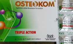 Harga Osteokom Tablet dan Forte (Strip & Box)