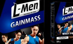 Update Harga Susu L-Men Gain Mass (225 gr & 500 gr)